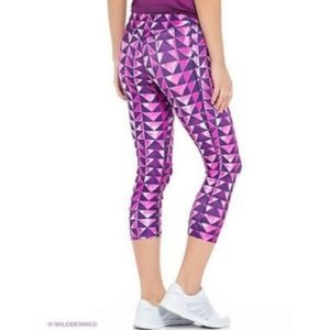 Nike London Legend Diamond Print Pink Capris S